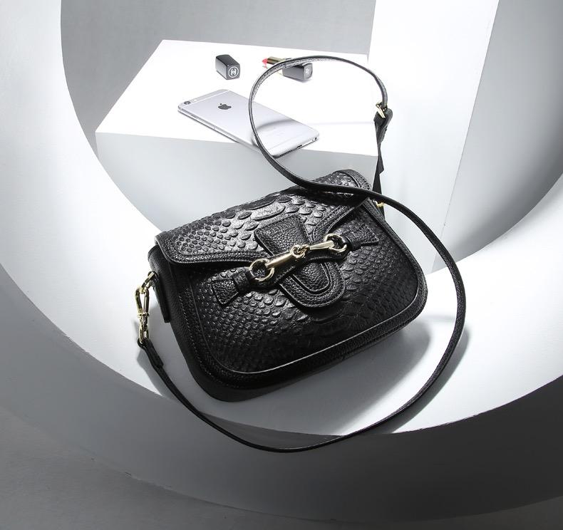Túi đeo chéo nữ da bò nhỏ đẹp hàng hiệu Jixi 2265