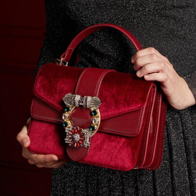 Túi đeo chéo nữ nhỏ đẹp hàng hiệu cao cấp SD 2458