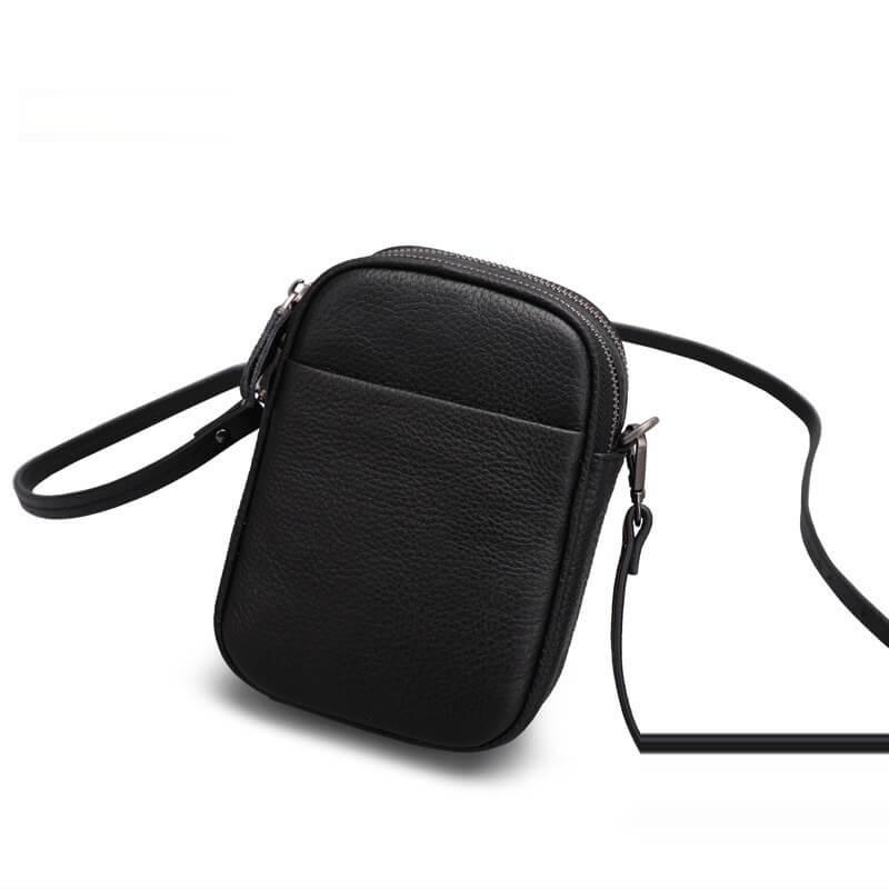 Túi đeo chéo nữ nhỏ xinh hàng hiệu da bò cao cấp BLD 2402