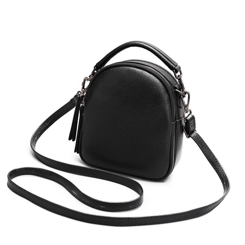 Túi đựng điện thoại đeo chéo da bò thật BLD 2330