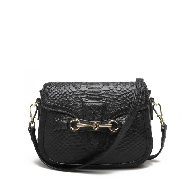 Túi xách đeo chéo da bò nữ đẹp hàng hiệu Jixi 2265