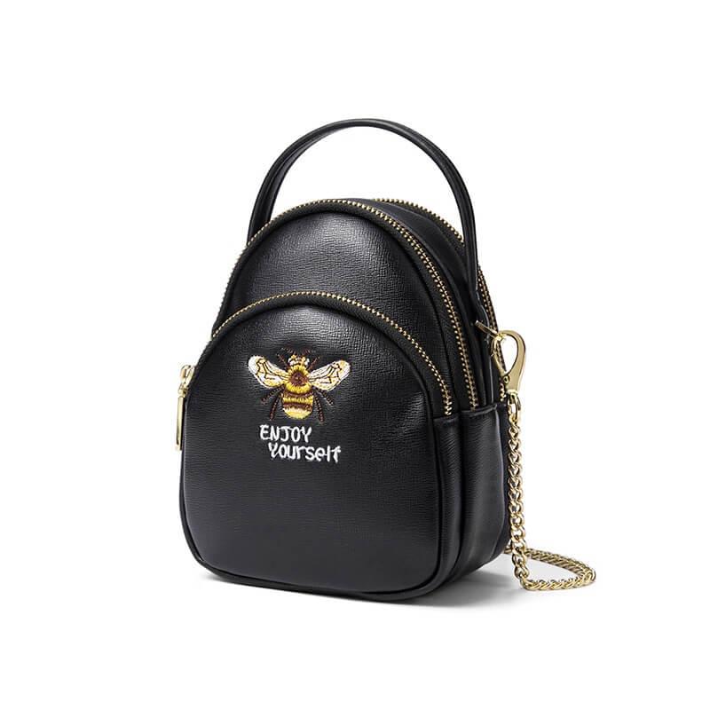 Túi xách đeo chéo nhỏ đựng điện thoại nữ 3 ngăn FSM 2388