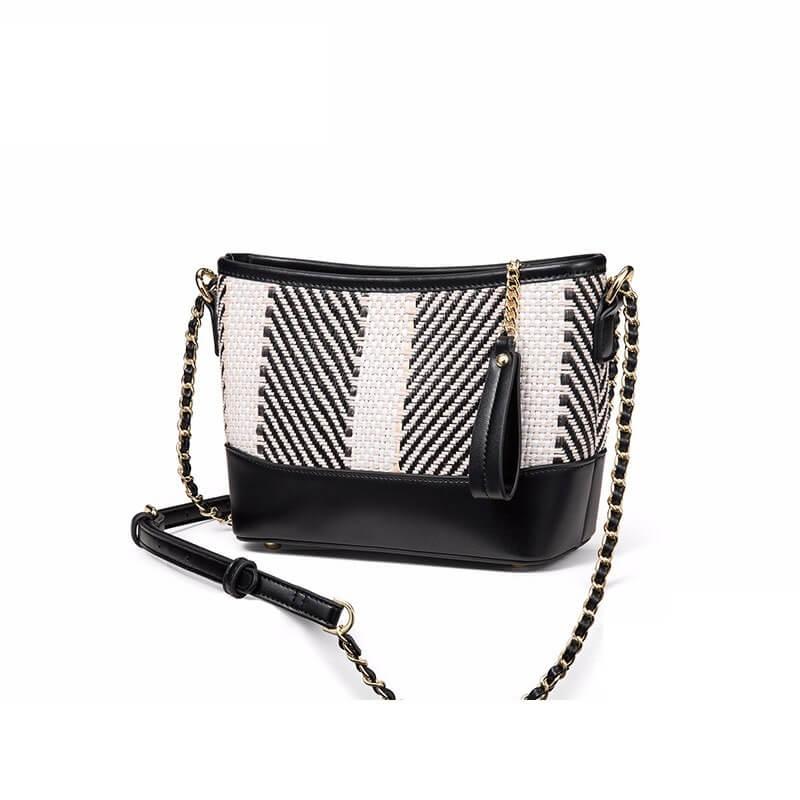 Túi xách nữ thời trang cao cấp da dệt FSM 2304