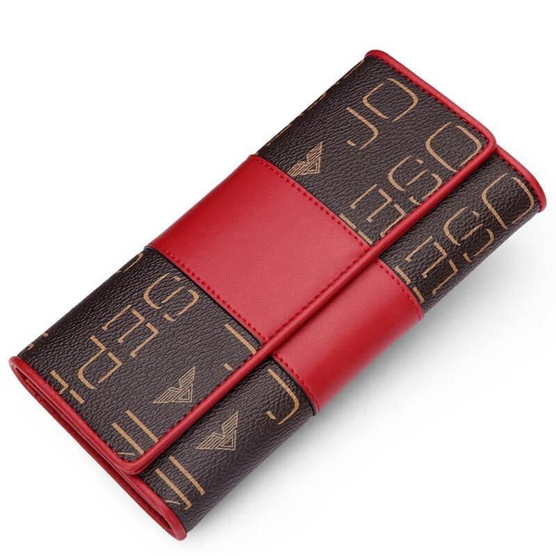 Ví nữ đẹp hàng hiệu, ví da nữ đựng tiền dễ thương JA 2419